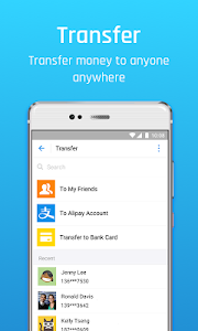screenshot of Alipay version 10.1.35.828