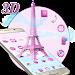 Download 3D Pink Paris Eiffel Tower 1.1.16 APK