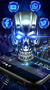 Download 3D Skull HD Theme 1.1.4 APK