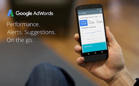 screenshot of AdWords version 1.6.9