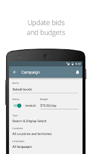 screenshot of AdWords version 1.8.2