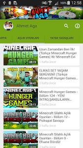 screenshot of Ahmet Aga - Oyun Videoları version 4.6