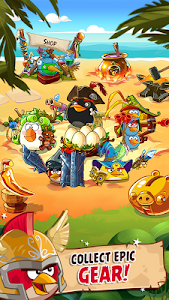 screenshot of Angry Birds Epic RPG version 1.5.0
