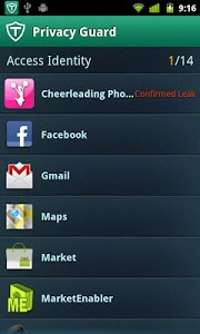 screenshot of Antivirus & Mobile Security version 1.4.0