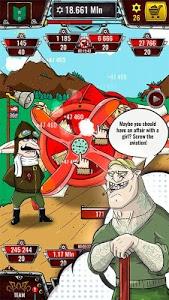 screenshot of Aviator - idle clicker game version 1.7.29