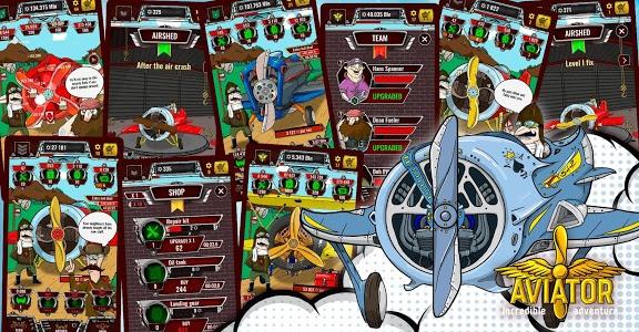 screenshot of Aviator Incredible Adventure - Clicker version 1.5.23
