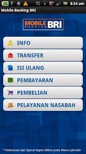 screenshot of BRI Mobile version 6.3.3