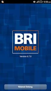 screenshot of BRI Mobile version 7.2.0