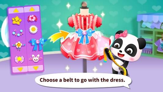 screenshot of Baby Panda's Fashion Dress Up Game version 8.30.10.00