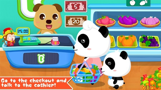 screenshot of Baby Panda's Supermarket version 8.10.00.03