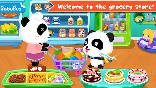 screenshot of Baby Panda's Supermarket version 8.29.00.00