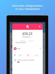 screenshot of Bankin' version 3.9.3