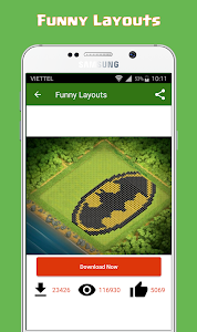 Download Maps of CoC - Builder Base Layouts 2017 1.0 APK
