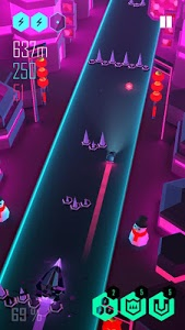 screenshot of Beat Racer version 2.4.1