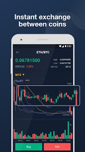 screenshot of Bitrue - Cryptocurrency Wallet & Exchange version 2.3.5