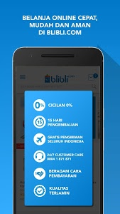 screenshot of Blibli.com Belanja Online version 4.6.5
