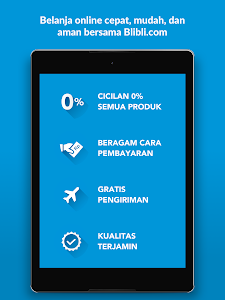screenshot of Blibli.com Belanja Online version 3.8.8