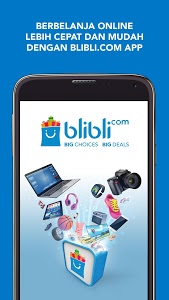 screenshot of Blibli.com Belanja Online version 3.6.3