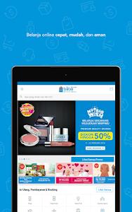 screenshot of Blibli.com Belanja Online Shop ala Mall version 5.4.1