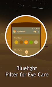 screenshot of Bluelight Filter - night mode version 1.0.0