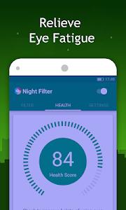 screenshot of Bluelight Filter - night mode version 2.0.1