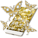 Download Butterflies Theme Gold Glitter Launcher 1.1.6 APK