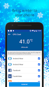 screenshot of CPU Cooling - Phone Cooler version 3.1.2017_2.0