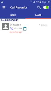 screenshot of Call Recorder - Automatic & hidden Recording free version 3.3