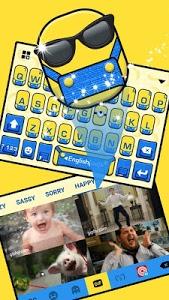 Download Cartoon Yellow Me Keyboard Theme 1.0 APK