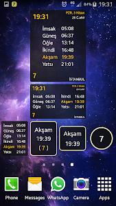 screenshot of CepVakit (DİB Namaz Vakitleri) version 2019.v34