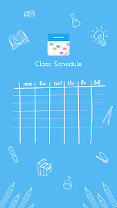screenshot of Schedule Planner - Class Schedule on Campus Life version 1.0.6