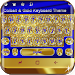Download Cobalt and Gold Keyboard Theme 10001002 APK