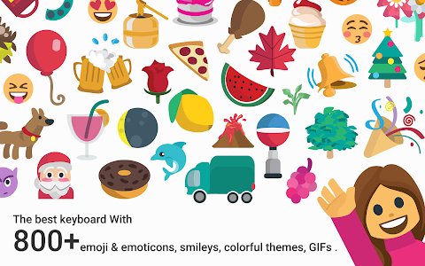 Download Coconut Keyboard Theme - Delicate,Customizable 5 APK