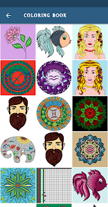 screenshot of Coloring Pages - Adults Coloring Pages version 1.0.9
