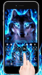 Download Neonwolf Keyboard Theme 1.0 APK