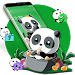 Download Cute Anime Green Panda Theme 1.1.1 APK