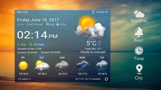 Download Daily&Hourly weather forecast 13.1.0.4100 APK