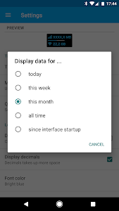 Download Data counter widget - usage  APK