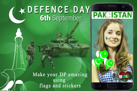 Download Defence Day Pakistan 6th September DP Maker Free 1.0 APK