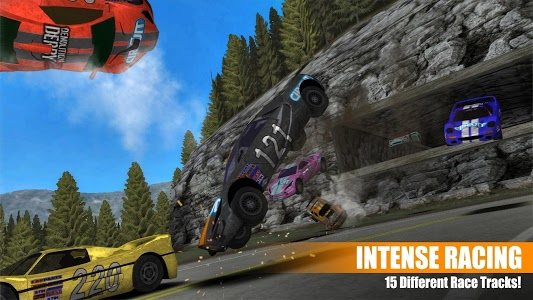 screenshot of Demolition Derby 2 version 1.3.29