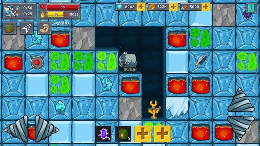 Download Digger Machine 2 - dig diamonds in new worlds 1.1.1 APK