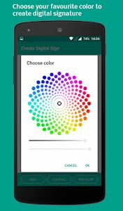 Download Digital Touch : Create colorful digital signature  APK