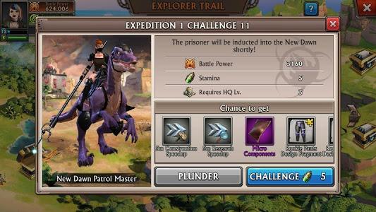 screenshot of Dino War version 1.2.3
