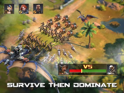 screenshot of Dino War: Rise of Beasts version 2.1.0
