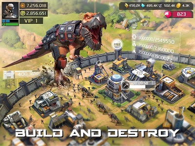 screenshot of Dino War version 1.2.1