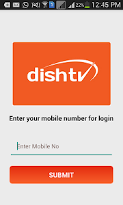 screenshot of DishTV BIZ version 6.7.5