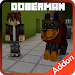 Download Doberman Dog Add-on for Minecraft 2.0 APK