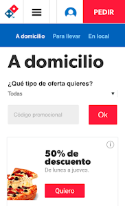 Download Dominos Pizza - Venta Online  APK