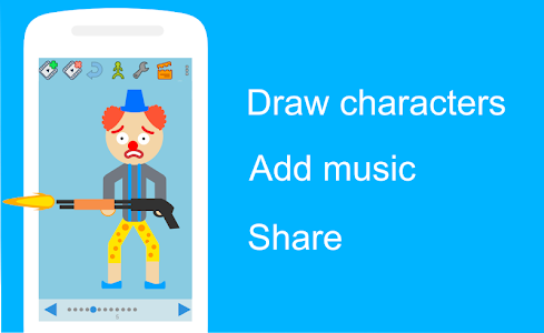 screenshot of Draw Cartoons version 1.9.66_tab