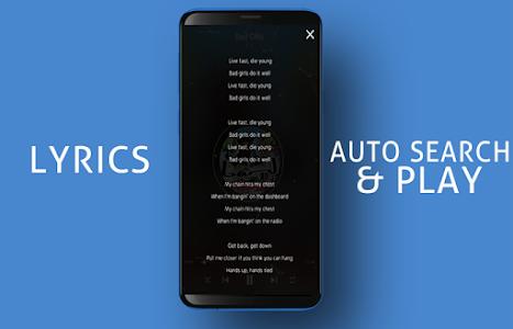screenshot of S9 Edge Music Player version 4.1.19